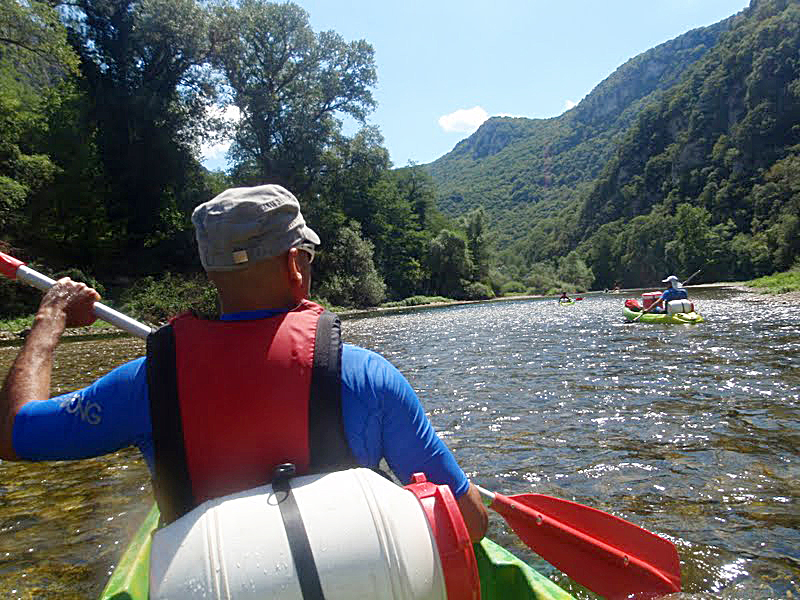 Kayaking in Rhodopes